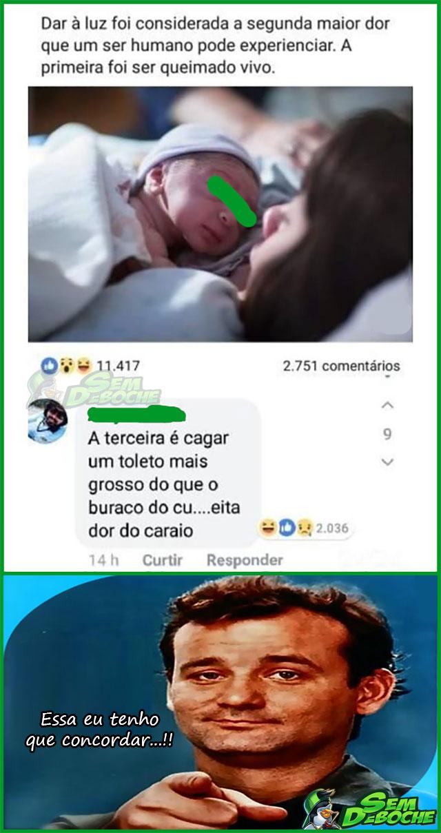 OS 3 MAIORES TIPOS DE DORES