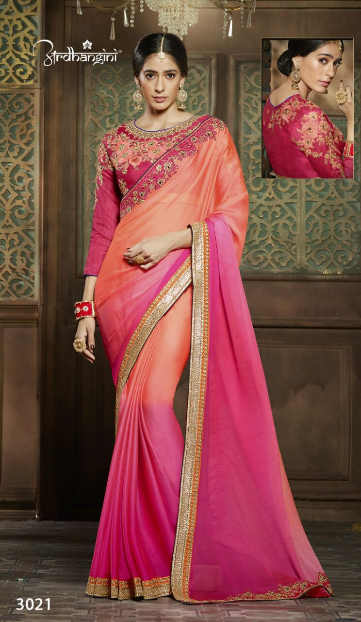 Ardhangini 3021-3038 – Wedding Wear Designer Fancy Saree