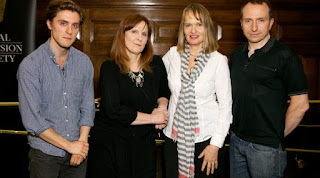 Anne Dudley, Jack Farthing, Debbie Horsfield, Damien Timmer  at the RTS Anatomy of a Hit
