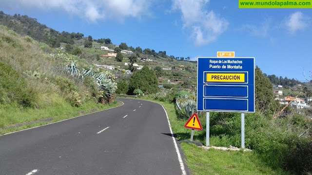 La carretera del Roque de Los Muchachos vuelve a estar abierta al tráfico en sus dos vertientes
