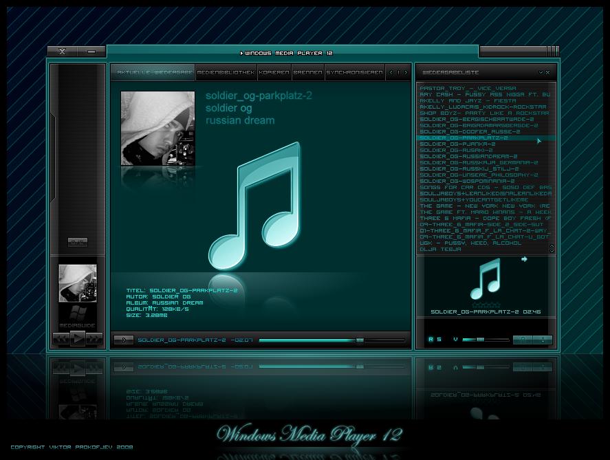 Windows media player 12.