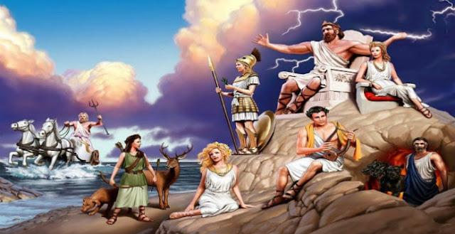 Τα ονόματα των Αθανάτων του Ολύμπου έχουν συμβολικές σημασίες – Κάθε ονομασία των Θεών και μία Μυστηριακή έννοια…