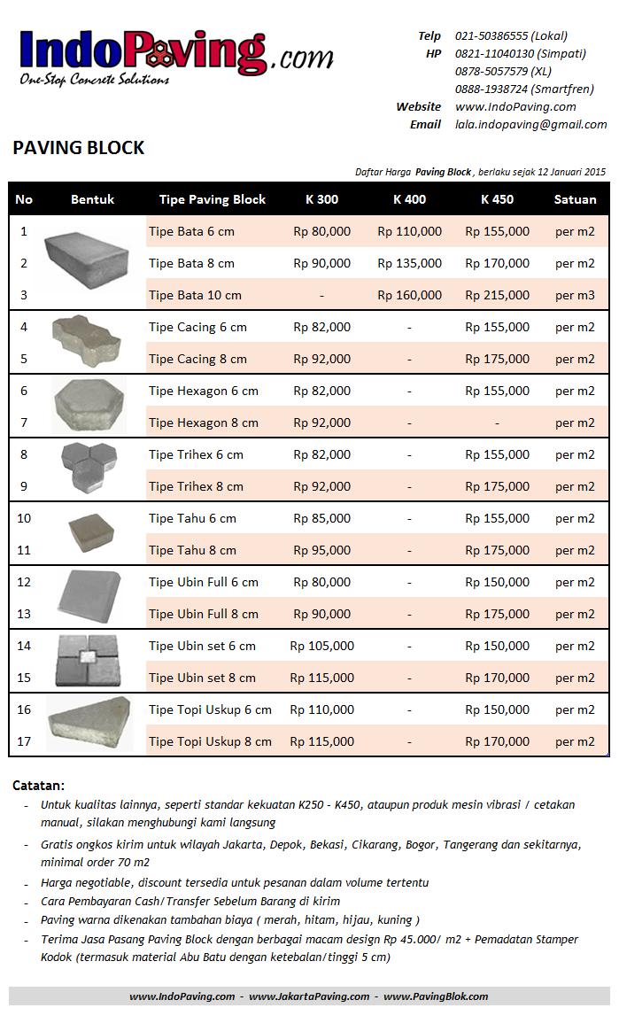 jual, harga murah, pabrik, conblock, paving block, bekasi, tangerang, jakarta, hidrolik
