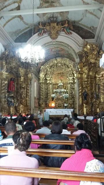 Interior da Capela do Padre Faria