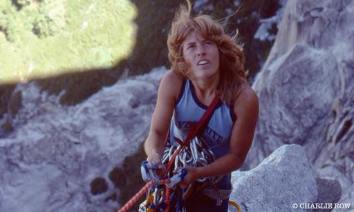 Figuras femeninas de la escalada :Lynn Hill