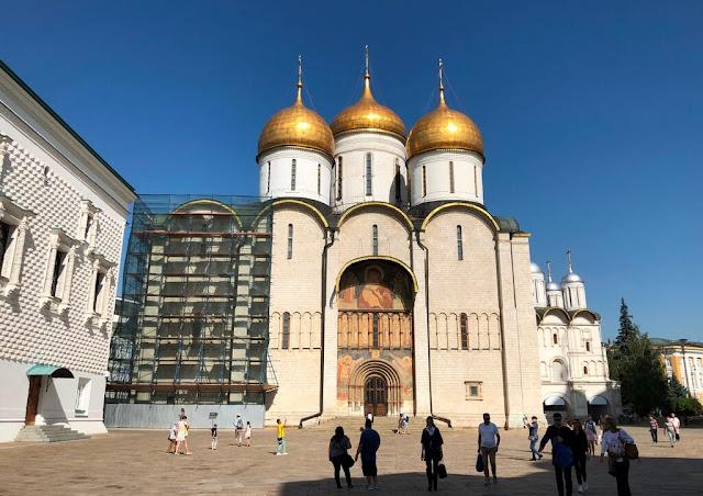 Kremlin - Catedral da Dormição