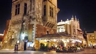 Ratusz na krakowskim rynku