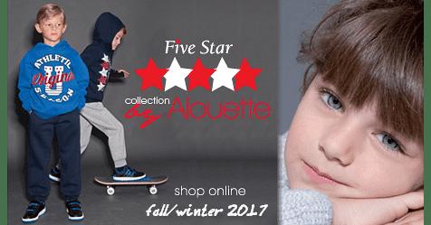 Παιδικές φόρμες Five Star Alouette