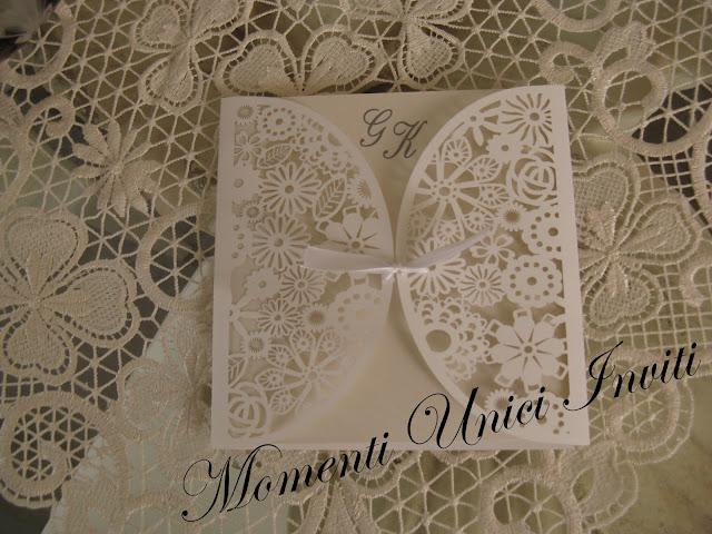 I Partecipazione collezione Purezza... per un matrimonio in stile ShabbyUncategorized