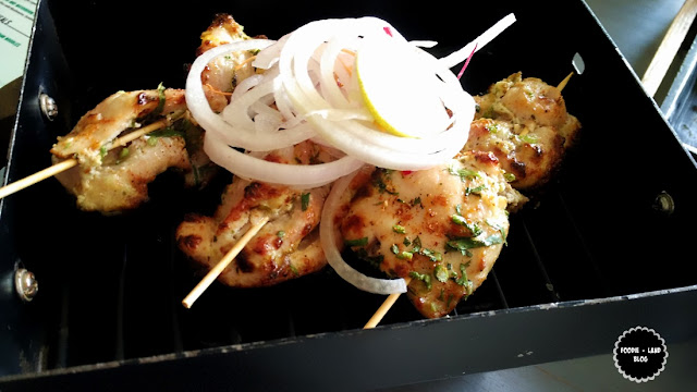 Lemon Spiked Chicken Tikka @Biergarten | Whitefield | Bangalore