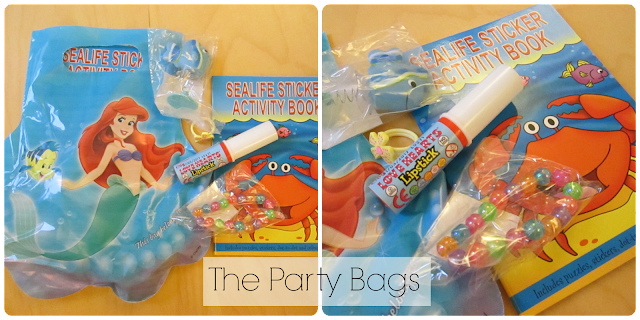 What is in the Ariel party bags