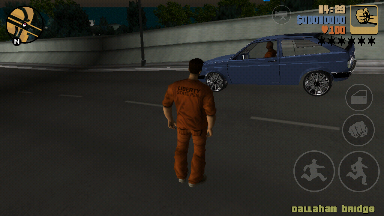 GTA III DOWN TOWN CITY