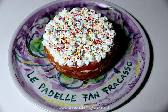 torta ripiena con crema