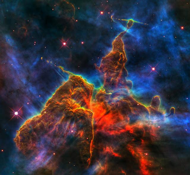 Mystic Mountain (region in the Carina Nebula)   Earth Blog