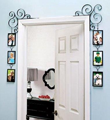 Menghias rumah tidak perlu mahal dan mengeluarkan banyak biaya Rancangan Hiasan Pintu Kamar Unik