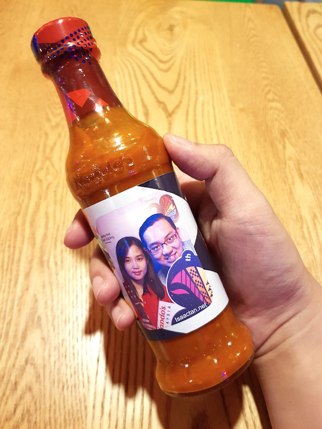My own personalized Nando's PERi-PERi sauce