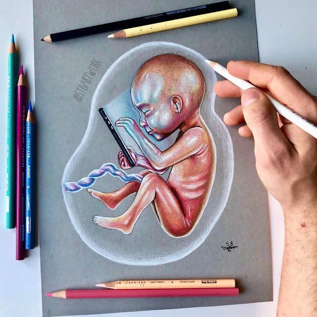 Miris! Beginilah 10 Ilustrasi Era Digital Racuni Kehidupan Manusia
