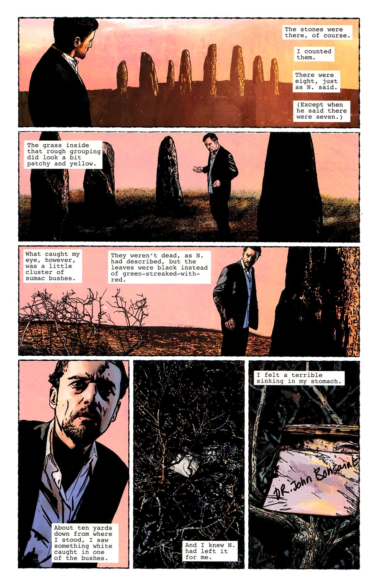 Read online Stephen King's N. comic -  Issue #3 - 8