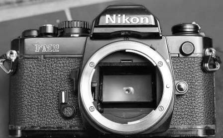 Nikon FM2 black body