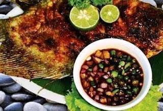 Resep dan cara membuat ikan bakar sambal kecap