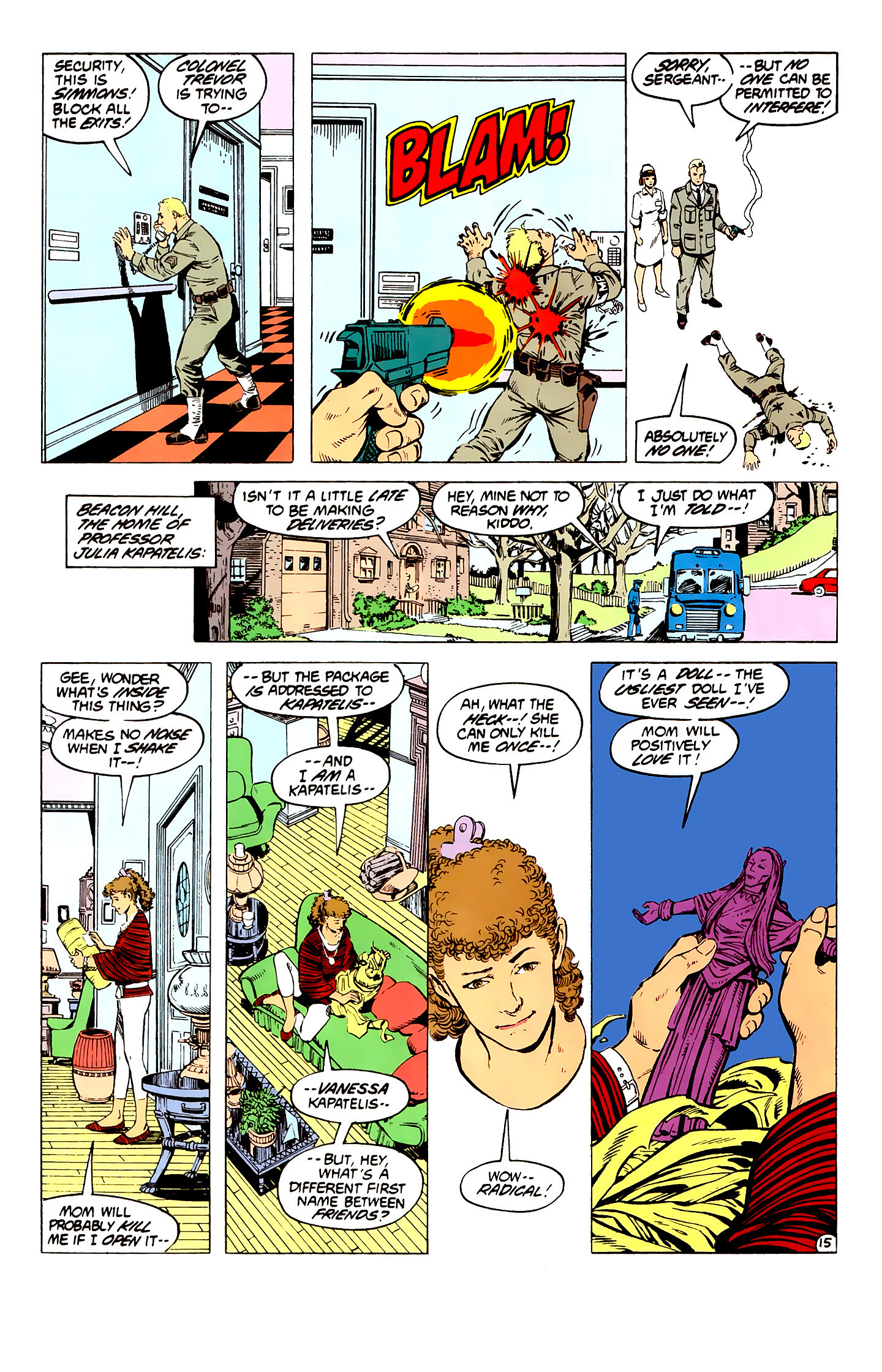 Read online Wonder Woman (1987) comic -  Issue #3 - 16