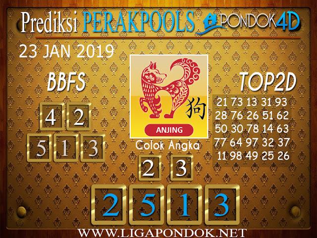 Prediksi Togel PERAK PONDOK4D 23 JANUARI 2019