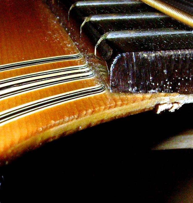Mặt đàn guitar laminate