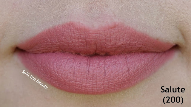 rimmel the only 1 matte lipstick review swatches 500 - take the stage