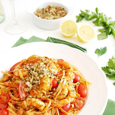 Recette: Linguine Bloody Mary aux Fruits de Mer