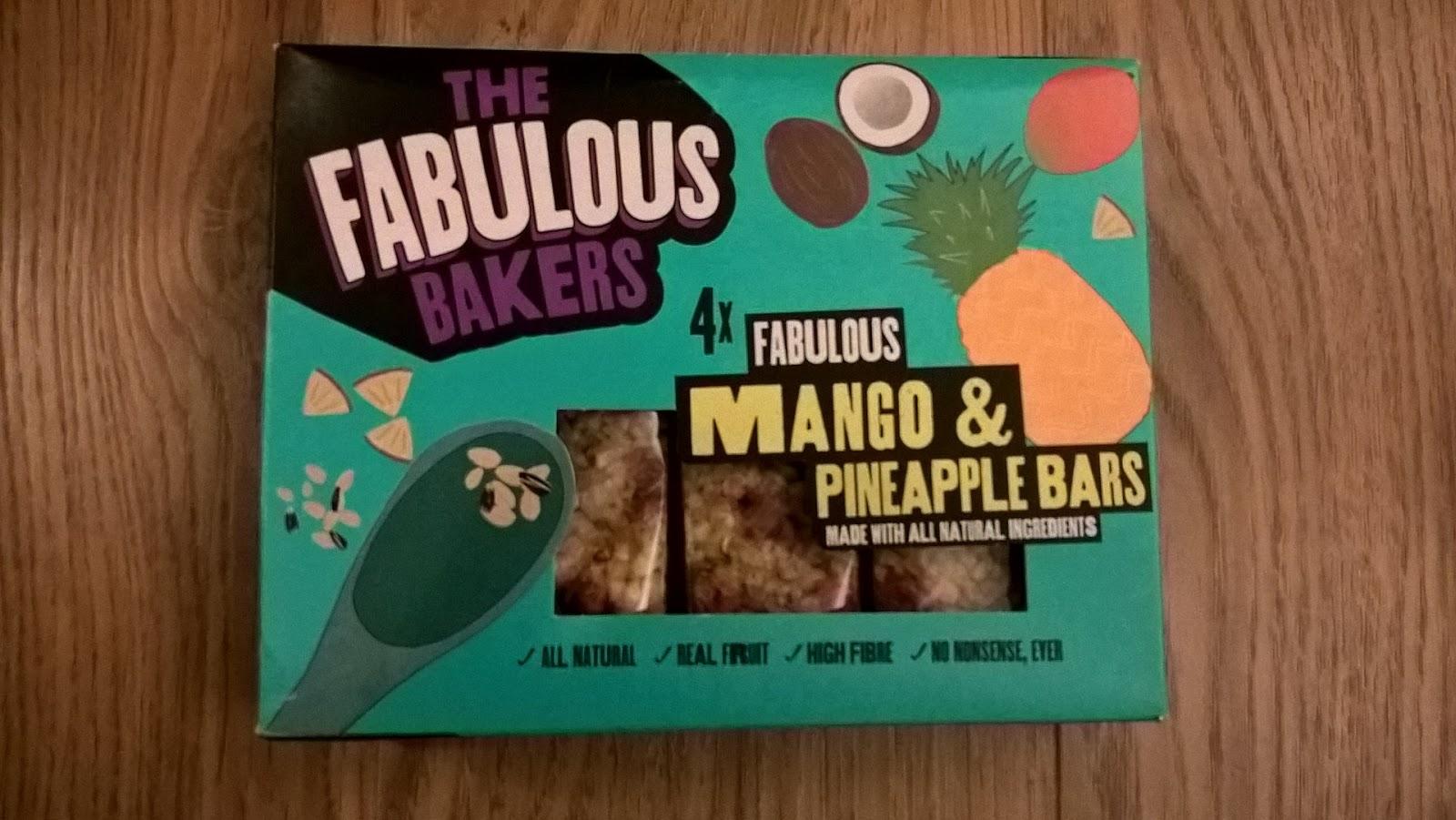 Fabulous Bakers Mango & Pineapple Bars - Degustabox Review - motherdistracted.co.uk
