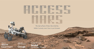 Menjelajah PLANET MARS Lewat Internet (Google Access Mars)