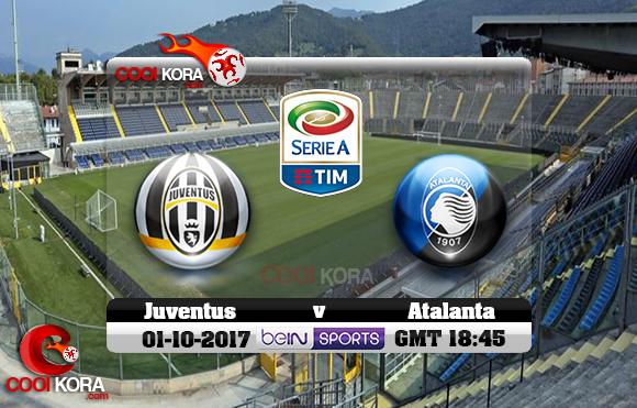 مشاهدة مباراة أتلانتا ويوفنتوس اليوم 1-10-2017 في الدوري الإيطالي