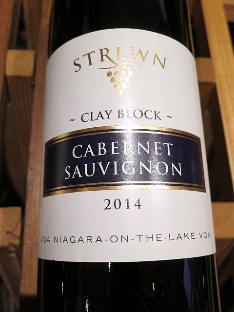 Strewn Clay Block Cabernet Sauvignon 2014 (89 pts)