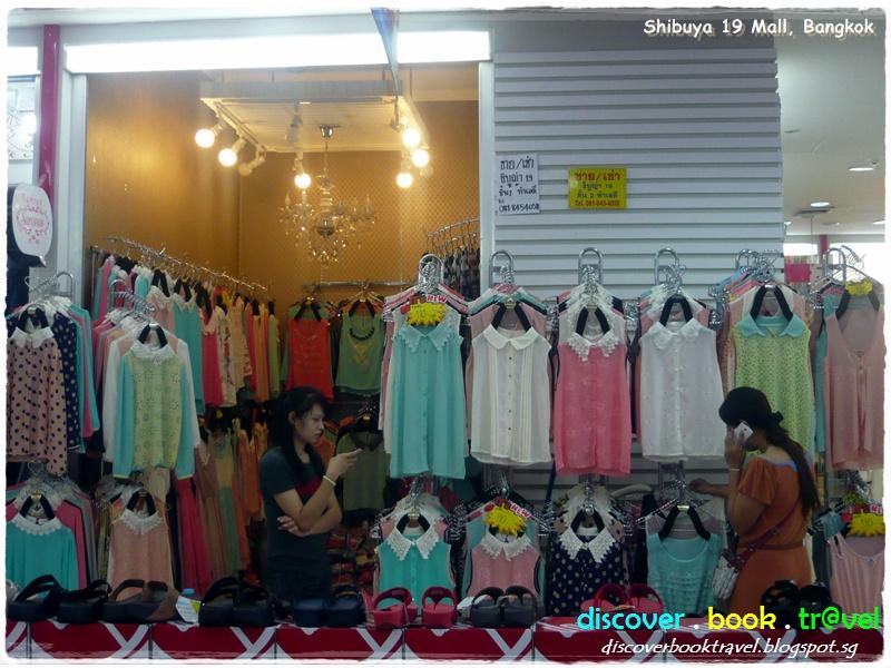 Bangkok Shopping Street Fashion