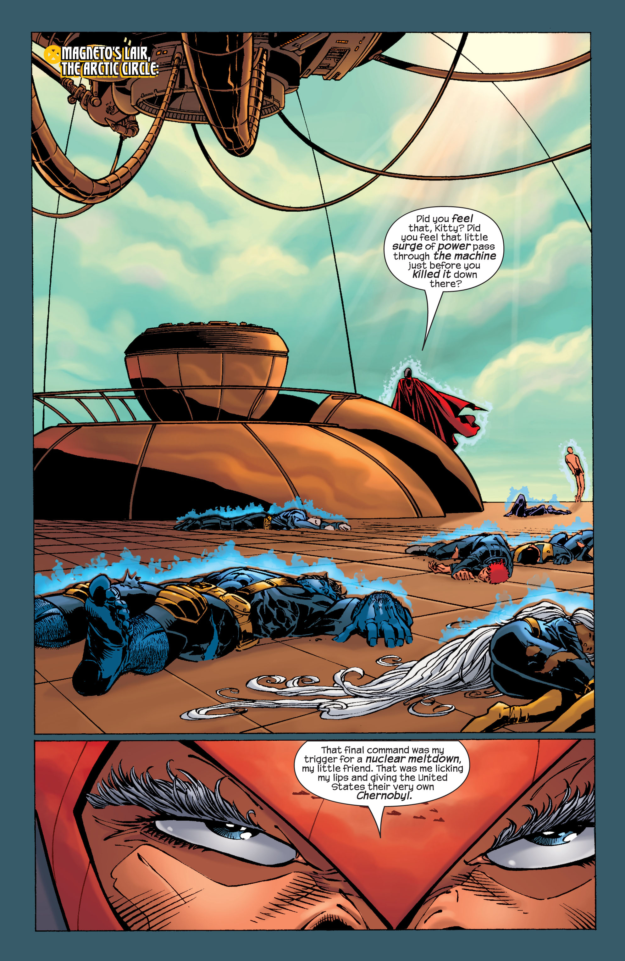 Read online Ultimate X-Men comic -  Issue #31 - 4