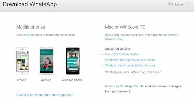 Cara Install Aplikasi WhatsApp Pada PC Windows Dan Mac OS Tanpa Emulator