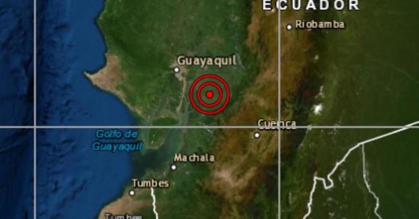 SISMO EN TUMBES: Defensa Civil no reporta daños por temblor de magnitud 5.1 en la zona norte del Perú