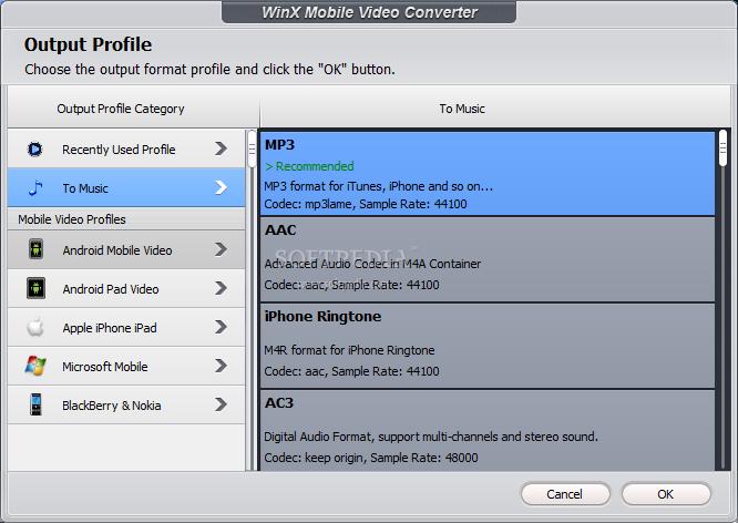 WinX Mobile Video Converter 4.0.1 2014 full version download