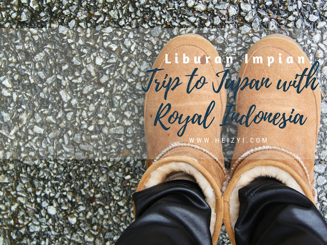 Liburan Impian Trip to Japan Itinerary with Royal Indonesia