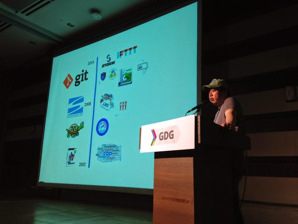 GDG Korea DevFest 2014: 효율적인 Git Branch Model 전략 - 김성노님