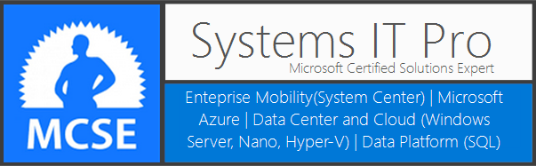 System Center, SQL and Windows Server IT Pro