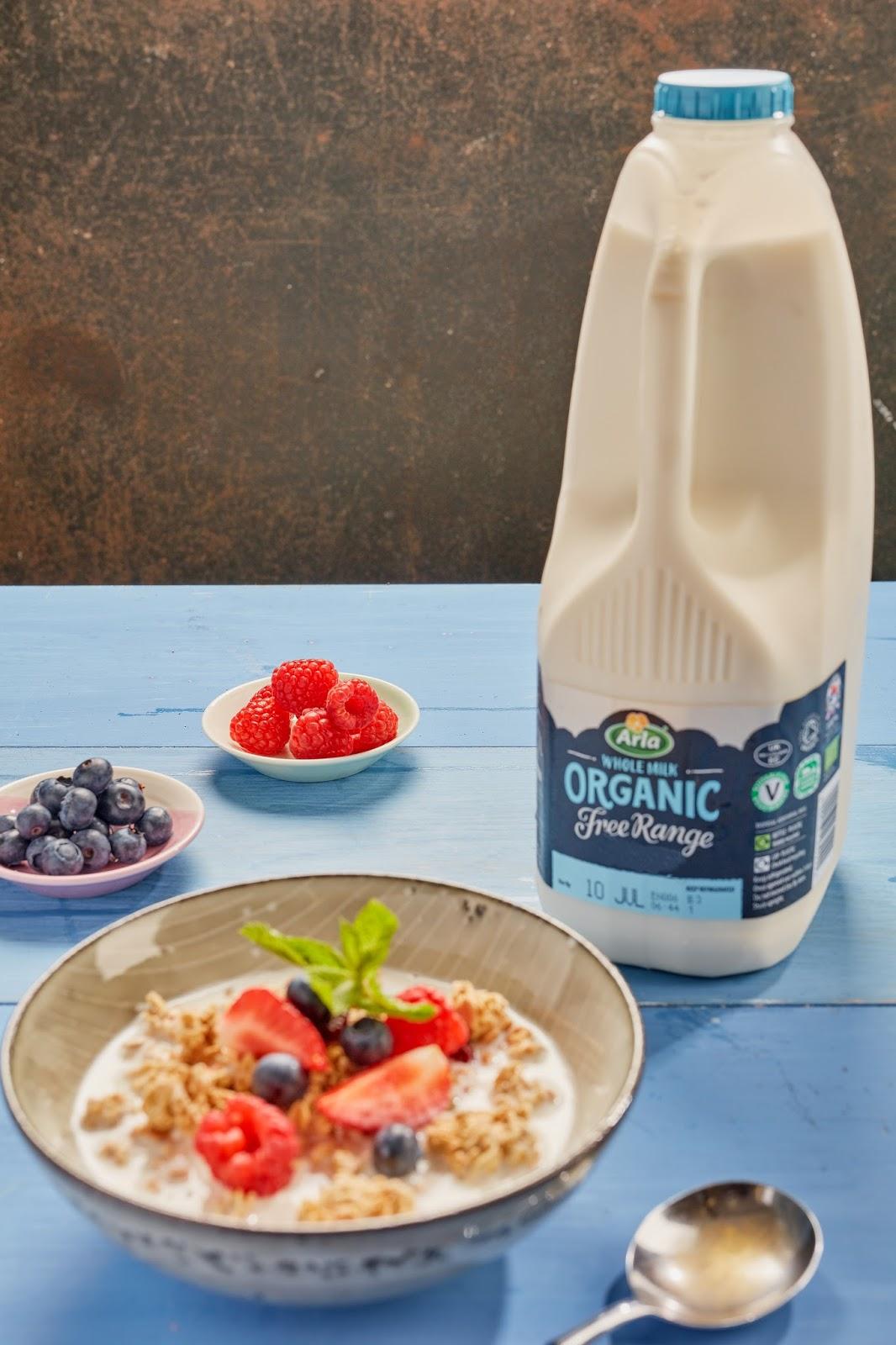 Arla Organic Free Range Milk & Cereal