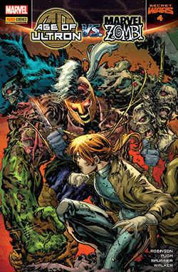 Age of Ultron VS Marvel Zombi #4