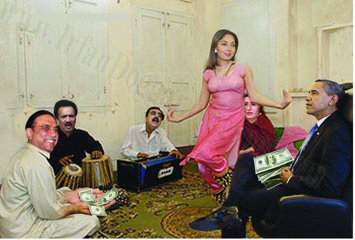 Funny Pakistani Politicians In Mujra