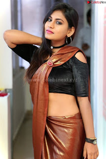 Priya Augustin in saree amazing cute beauty hq .xyz Exclusive Pics 010