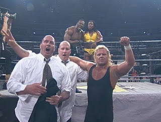 Curt Hennig and Creative Control beat Harlem Heat