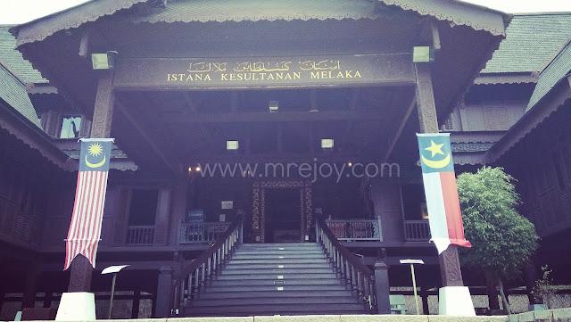 Jalan Jalan istana Kesultanan Melaka