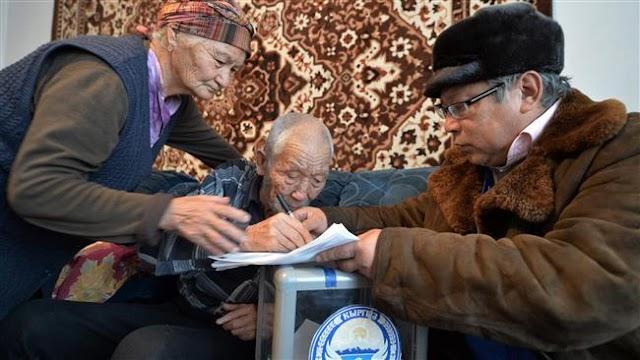 Constitutional referendum underway in Kyrgyzstan