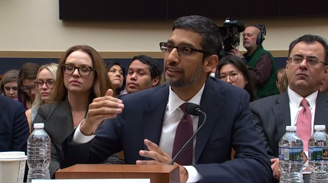 Google CEO Had To Explain To Congress Why Googling 'Idiot' Shows Donald Trump