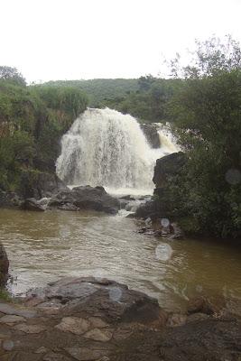Cachoeira Véu das Noivas em Poços de Caldas.